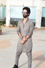Shahid Kapoor at the promotions For Film Batti Gul Meter Chalu At Sun N Sand Juhu on 1st Sept 2018