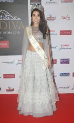 at the Grand Finale of Miss Diva in NSCI worli on 31st Aug 2018