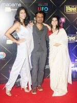 Nawazuddin Siddiqui, Kubra Sait and Rajshri Deshpande at Red Carpet of IReel Awards on 6th Sept 2018