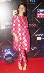 Rasika Duggal at Red Carpet of IReel Awards on 6th Sept 2018