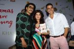 Akshay Kumar, Twinkle Khanna, Ranveer Singh at the Launch Of Twinkle Khanna's Book Pyjamas Are Forgiving in Taj Lands End Bandra on 7th Sept 2018