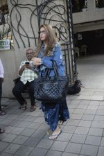 Dimple Kapadia spotted at Bblunt juhu on 7th Sept 2018