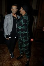 Karan Johar, Ranveer Singh at the Launch Of Twinkle Khanna's Book Pyjamas Are Forgiving in Taj Lands End Bandra on 7th Sept 2018