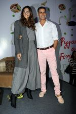 Sonam Kapoor, Akshay Kumar at the Launch Of Twinkle Khanna's Book Pyjamas Are Forgiving in Taj Lands End Bandra on 7th Sept 2018