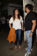 Huma Qureshi, Anurag Kashyap at the Screening Of Film Manmarziyaan on 7th Sept 2018 (102)_5b95242a9bc55.JPG