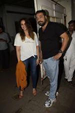 Huma Qureshi, Anurag Kashyap at the Screening Of Film Manmarziyaan on 7th Sept 2018 (106)_5b95242d7211a.JPG