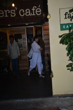 Sara Ali Khan spotted at Farmer's Cafe in bandra on 11th Sept 2018