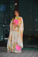 Alvira Khan at Ganpati celebrations at Arpita Khan_s home in khar on 13th Sept 2018 (6)_5b9b5563abe78.JPG