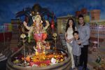 Bhushan Kumar, Divya Kumar perform Ganpati pooja at Tseries office in andheri on 13th Sept 2018 (20)_5b9b561be9799.JPG