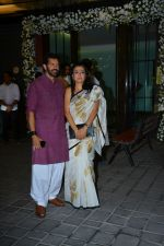 Kabir Khan, Mini Mathur at Ganpati celebrations in Arpita Khan's home in khar on 13th Sept 2018