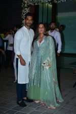 Neha Dhupia, Angad Bedi at Ganpati celebrations in Arpita Khan_s home in khar on 13th Sept 2018 (77)_5b9b61b66c549.jpg
