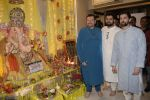 Neil Nitin Mukesh, Nitin Mukesh, Naman Nitin Mukesh celebrates Ganesh chaturthi & muhutat of his brother's directorial debut at his home in mumbai on 13th Sept 2018