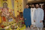 Neil Nitin Mukesh, Nitin Mukesh, Naman Nitin Mukesh celebrates Ganesh chaturthi & muhutat of his brother_s directorial debut at his home in mumbai on 13th Sept 2018 (16)_5b9b571f58c48.JPG