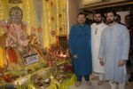 Neil Nitin Mukesh, Nitin Mukesh, Naman Nitin Mukesh celebrates Ganesh chaturthi & muhutat of his brother_s directorial debut at his home in mumbai on 13th Sept 2018 (18)_5b9b5722ce555.JPG