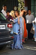 Sophie Chaudhary at Ganpati celebrations in Arpita Khan_s home in khar on 13th Sept 2018 (21)_5b9b620537e2f.jpg
