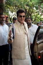 Jeetendra at Ekta Kapoor's house for Ganpati celebration on 16th Sept 2018