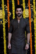 Karan Wahi at Ekta Kapoor's house for Ganpati celebration on 16th Sept 2018