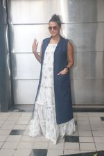 Neha Dhupia spotted before the recording of NofilterNeha at Khar on 16th Sept 2018