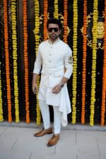 Rithvik Dhanjani at Ekta Kapoor's house for Ganpati celebration on 16th Sept 2018