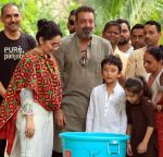Sanjay Dutt Ganpati Immersion At Bandra on 16th Sept 2018