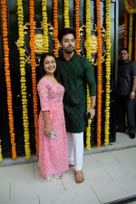 Sonu Kakkar at Ekta Kapoor's house for Ganpati celebration on 16th Sept 2018