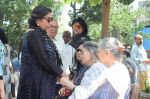 Shabana Azmi at Kalpana Lajmi Funeral At Oshiwara Crematorium In Mumbai on 23rd Sept 2018 (130)_5ba9d368e51b4.JPG