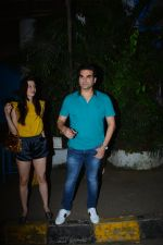 Arbaaz Khan with girlfriend spotted at Olive bandra on 25th Sept 2018 (1)_5bab30353743b.JPG
