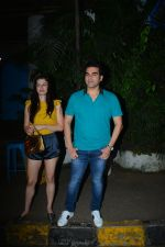 Arbaaz Khan with girlfriend spotted at Olive bandra on 25th Sept 2018 (10)_5bab3055207dd.JPG