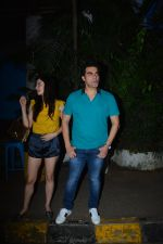 Arbaaz Khan with girlfriend spotted at Olive bandra on 25th Sept 2018 (12)_5bab30592edbd.JPG