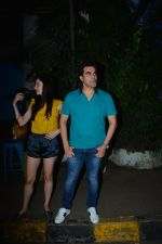 Arbaaz Khan with girlfriend spotted at Olive bandra on 25th Sept 2018 (13)_5bab305b38aef.JPG