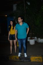 Arbaaz Khan with girlfriend spotted at Olive bandra on 25th Sept 2018 (2)_5bab3037372dd.JPG