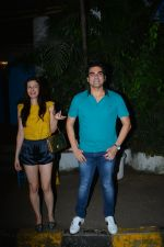 Arbaaz Khan with girlfriend spotted at Olive bandra on 25th Sept 2018 (3)_5bab303928e58.JPG