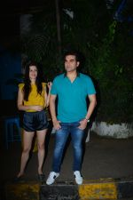 Arbaaz Khan with girlfriend spotted at Olive bandra on 25th Sept 2018 (8)_5bab30513bffe.JPG