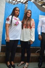 Arpita Khan, Alvira Khan at Neha Dhupia's Baby Shower in Olive, Bandra on 30th Sept 2018
