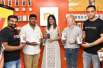 Chandini Chowdary at the launch of RedMi 6 Mobile Offline at Cellbay showroom-Gachibowli Branch on 30th Sept 2018 (9)_5bb1cf7306423.JPG
