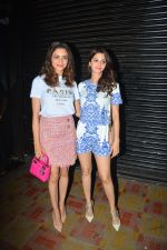 Vedhika Kumar and Aamna Sharif spotted at Bastian bandra on 30th Sept 2018