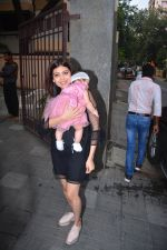 at the Birthday celebration of Inaaya daughter of Soha Ali Khan & Kunal Khemu at thier Khar residence on 29th Sept 2018