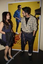 Ayushmann Khurrana, Bhumi Pednekar at the Screening of film AndhaDhun at zee preview theater in andheri on 1st Oct 2018