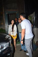 Aftab Shivdasani with wife Nin Dusjan & Gulshan Grover Spotted at a restaurant in bandra on 2nd Oct 2018 (1)_5bb4683fe7992.JPG