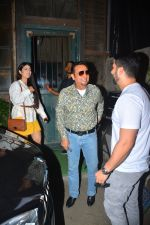 Aftab Shivdasani with wife Nin Dusjan & Gulshan Grover Spotted at a restaurant in bandra on 2nd Oct 2018 (5)_5bb468443a114.JPG