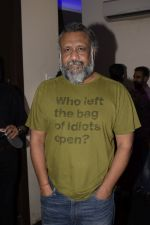 Anubhav Sinha at the Screening of film AndhaDhun at zee preview theater in andheri on 1st Oct 2018