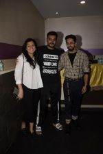 Ayushmann Khurrana, Shashank Khaitan at the Screening of film AndhaDhun at zee preview theater in andheri on 1st Oct 2018