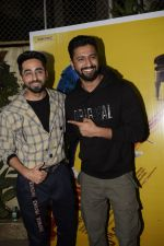 Vicky Kaushal, Ayushmann Khurrana at the Screening of film AndhaDhun at Sunny sound juhu on 1st Oct 2018 (92)_5bb466022bfc5.JPG