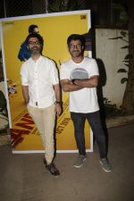 at the Screening of film AndhaDhun at Sunny sound juhu on 1st Oct 2018