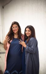 Zoya Akhtar and Neha Dhupia spotted for NoFilterNeha - Season 3 on 3rd Oct 2018