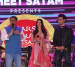 Ameet Satam, Warina Hussain and Aayush Sharma 1 at Ameet Satam_s Adarsh Navratri Utsav Day 1 at JVPD Grounds, Juhu_5bbf0eddee2f9.jpg