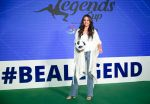 Sonakshi Sinha at the launch of india_s largest corporate football tournament Legends Cup in Tote racecourse on 9th Oct 2018 (22)_5bbf0476b9cbf.jpg