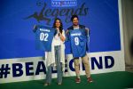 Sonakshi Sinha, Rannvijay Singh at the launch of india_s largest corporate football tournament Legends Cup in Tote racecourse on 9th Oct 2018 (25)_5bbf04805a97d.jpg