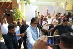 Amitabh Bachchan meets his fans outside his juhu residence on the occasion of his birthday on 10th Oct 2018