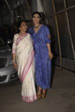 Asha Bhosle, Kajol at the screening of film Helicopter Eela at sunny sound juhu on 11th Oct 2018 (13)_5bc0bc0e237ec.JPG